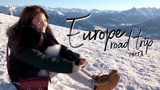 Europe Road Trip 🚗 Füssen, Munich 🇩🇪 Innsbruck 🇦🇹 | sananthachat