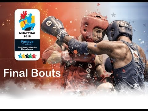 Finals World University Championships Muaythai 2018, Pattaya, Thailand_Day 6