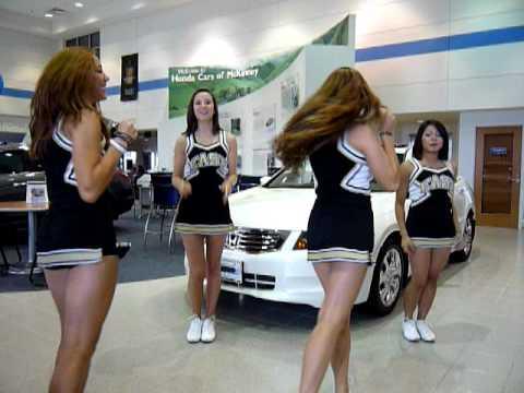 Plano East Senior High Cheerleaders YouTube - Plano car show