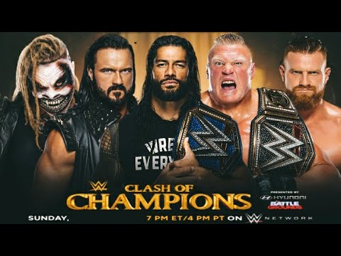 Download wwe clash of champions 2021 match card prediction  dream match card prediction  