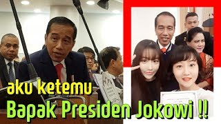 Bapak Presiden Jokowi datang ke kampus Seoul HUFS!! | Cewek Korea selfie bersama Presiden Indonesia