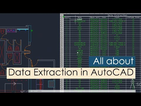 All About Data Extraction In AutoCAD