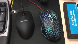 So I bought a 30 pack of Amazonbasics three button mouse because REASONS
