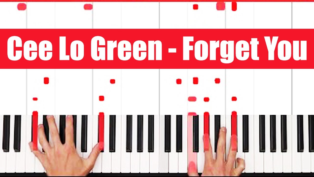 Forget you cee lo green piano tutorial lick youtube forget you cee lo green piano tutorial lick hexwebz Images