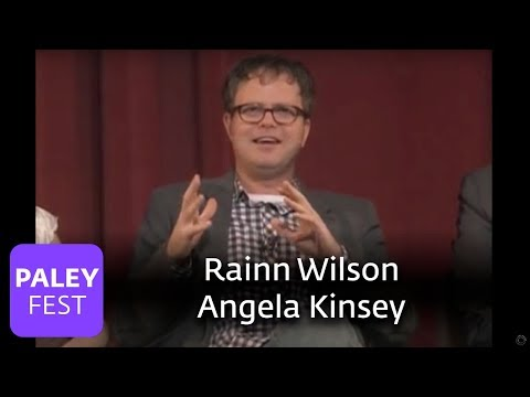 The Office  Angela Kinsey & Rainn Wilson