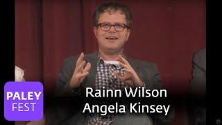 The Office - Angela Kinsey & Rainn Wilson