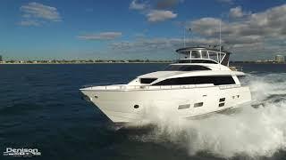 70 Hatteras Motoryacht Highlights