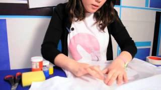 Hazlo tú mismo: Estampado pintado a mano