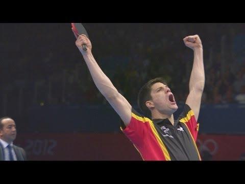 Ovtcharov Wins Bronze in Men's Table Tennis Singles - London 2012 Olympics