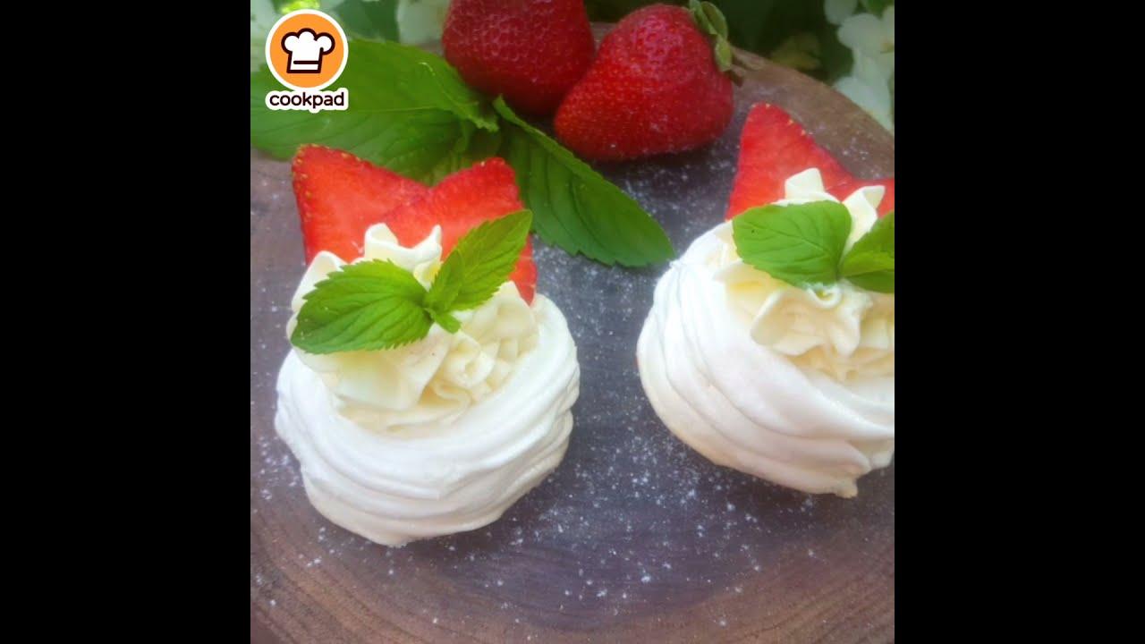 Пирожные Павлова
