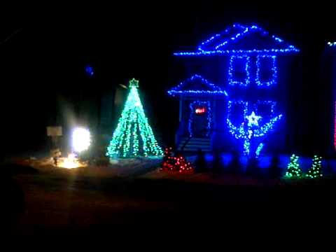 Calgary Light Display - Stokes Family