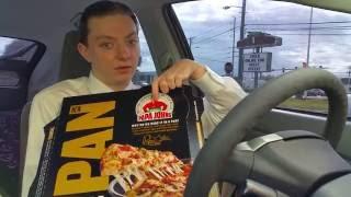 Papa John's Pan Pizza - Food Review