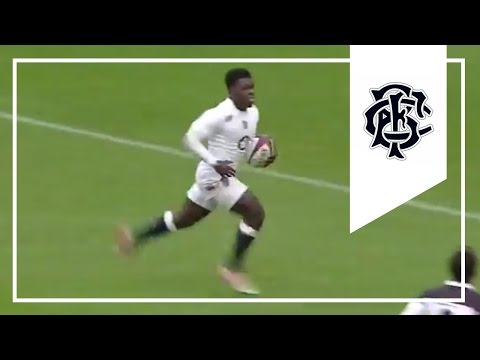 Christian Wade 2nd try | England v Barbarians