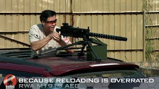 Because Reloading Is Overrated – RWA M1919 AEG - Redwolf Airsoft RWTV