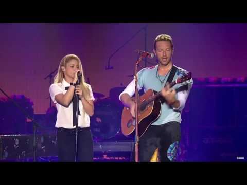 Shakira - Me Enamoré ft.  Chris Martin - HD