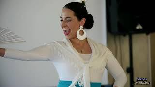 Испанский танец. Свадебный подарок от прекрасной гостьи.