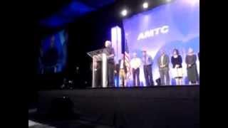 Frank Thomas Acceptance Speech 2013 AMTC Marriott-Carlson Leadership Award