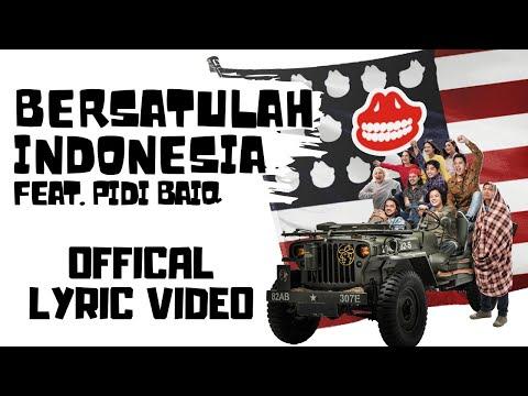 The Panasdalam Bank - Bersatulah Indonesia (Feat. Pidi Baiq) (Official Lyric Video)