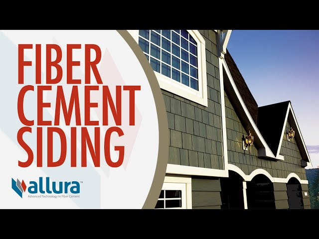 Fiber Cement Products from Allura USA
