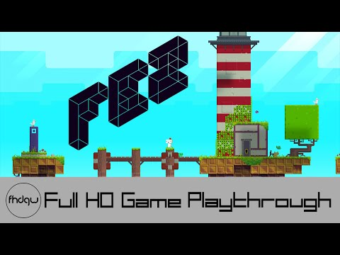 Fez - Full Game Playthrough (No Commentary)