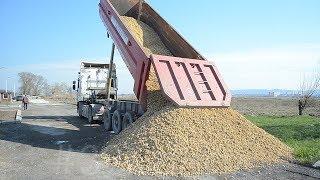 В сельских округах Анапы ремонтируют дороги