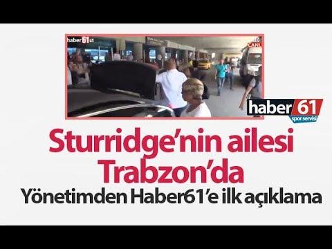 Sturridge'nin ailesi Trabzon'da