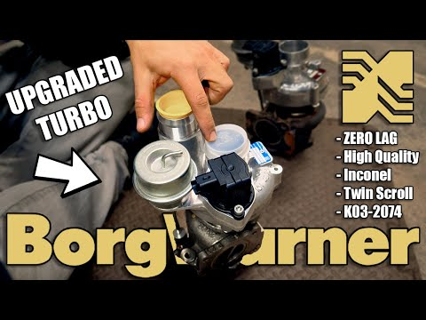 Upgrading To A Borg Warner Turbocharger