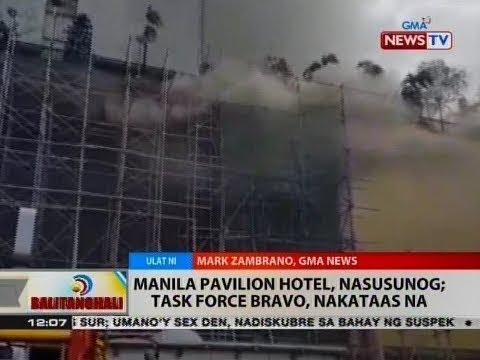 BT: Manila Pavilion Hotel, nasusunog