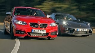 BMW M235i  vs. Porsche Cayman S