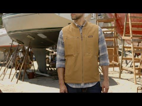 factory price cute cheap best supplier Patagonia Men's All Seasons Hemp Canvas Vest