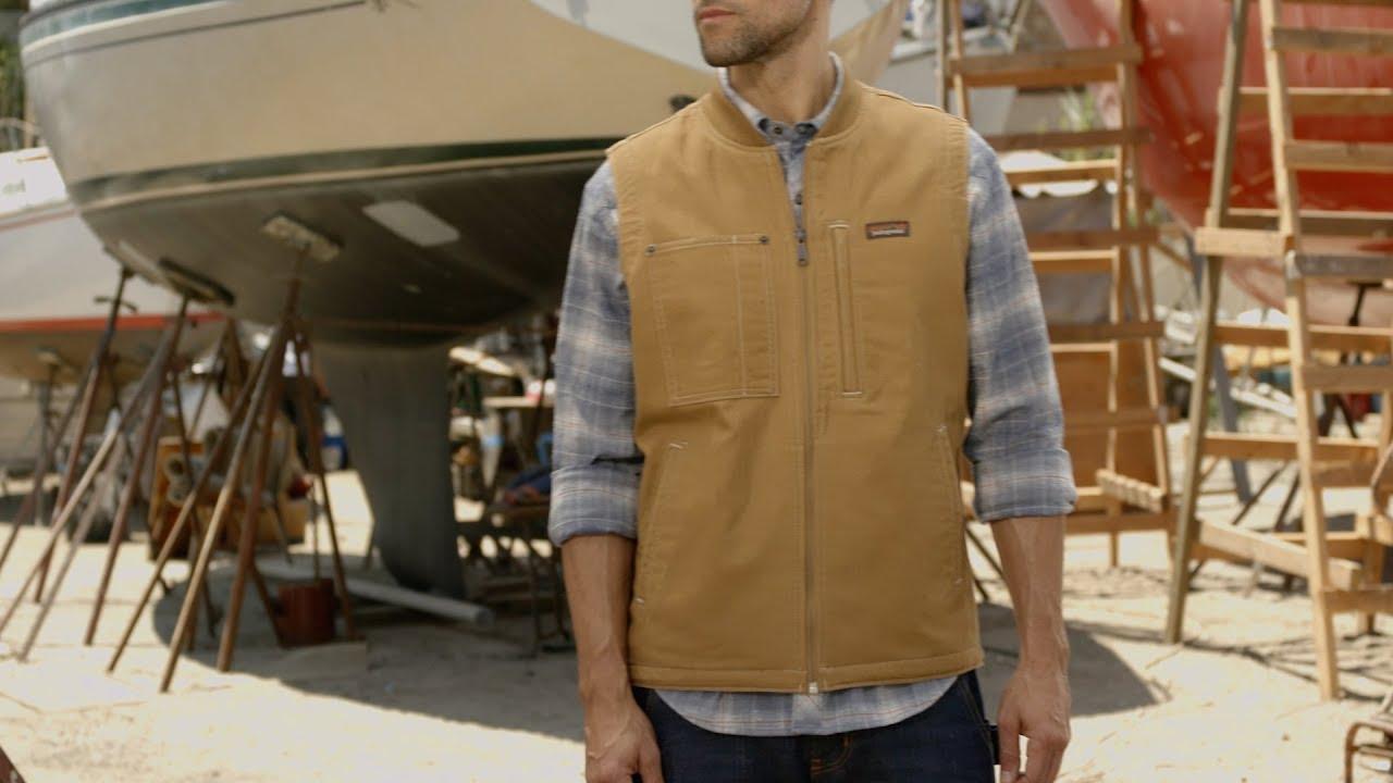 discount shop sale online huge discount Patagonia Men's All Seasons Hemp Canvas Vest - YouTube