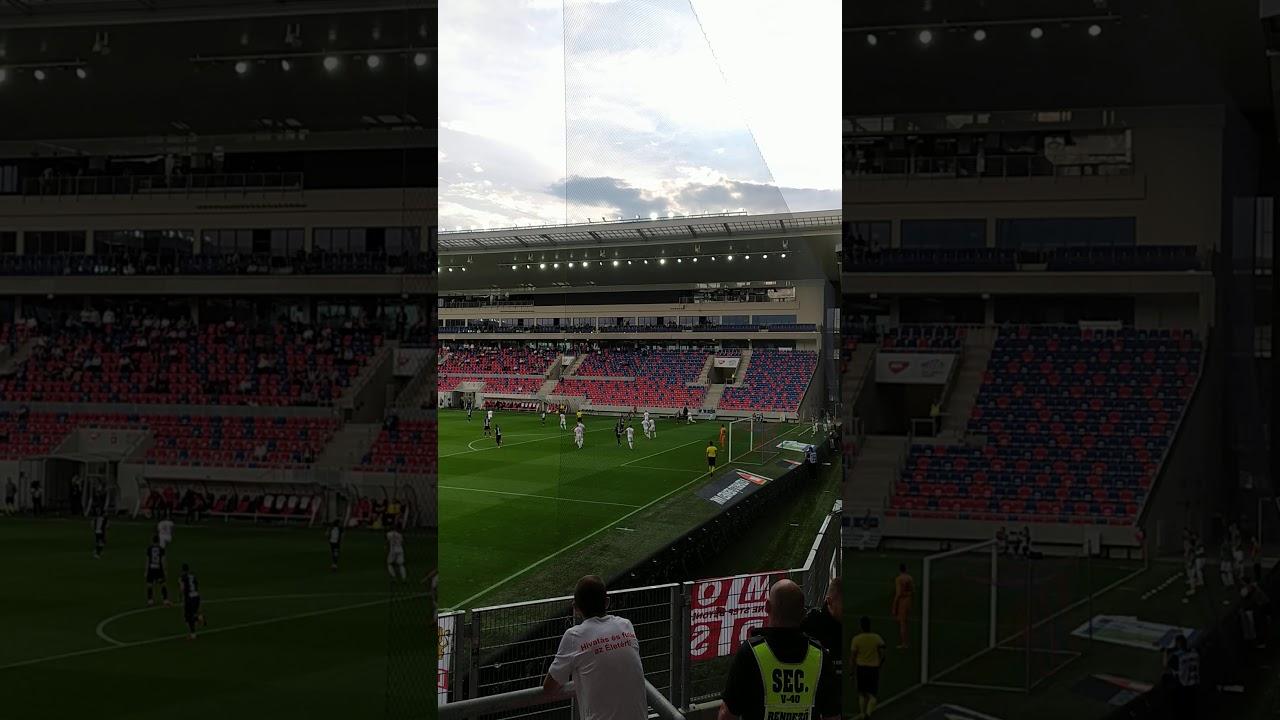 MOL Fehérvár FC-DVSC 1-0 Kimaradt fehérvári helyzet - YouTube