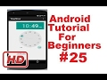 [Android Studio Tutorial] Android Tutorial for Beginners 25 #  Android TimePicker