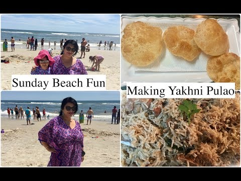 A Beach Fun Day In My Life | What Food Did I Eat (Made ) In  Sunday | Simple Living Wise Thinking