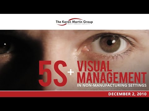 5S Visual Management In Office & Service Environments