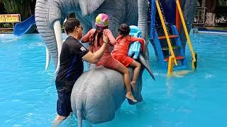 Family Bonding Damsen Water  Park