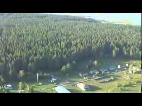 с. Завьялово (Алтайский край) с высоты птичьего полета