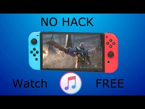 How To Watch iTunes Movie Purchases On Nintendo Switch For FREE 2019 [NO HACK]