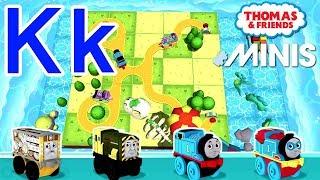 Kk — Thomas ve Arkadaşları Mini ile Öğrenmek Akk Kendi mektup 'Senin'K'' Tren yolu İnşa Verilmiştir.