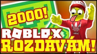 I GIVE MY ROBLOX account and 2000 ROBUXŮ!! -Disaster Iceland