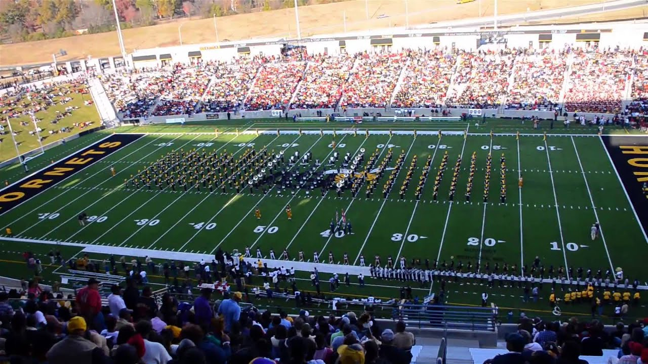 Alabama State University 2012 Homecoming Game Highlights