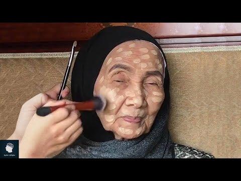 لن تصدق كيف تغيرت هذه المرأة ذات 93 عاما بعدما وضعت مساحيق التجميل.. عجائب خبراء التجميل