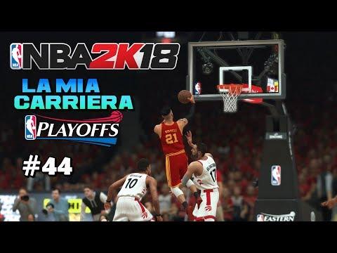GARA 4 FINALI DI CONFERENCE! - NBA 2K18 ITA - La Mia Carriera Ep.44 - PS4 Pro