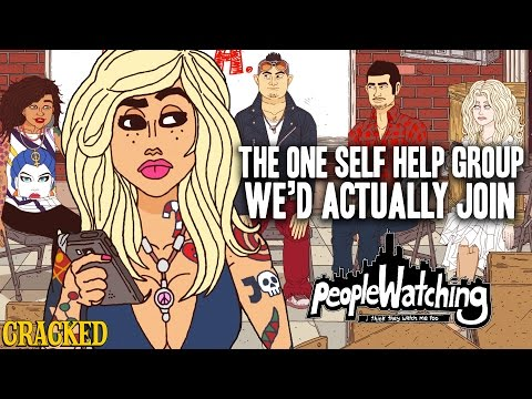 The One Self Help Group We'd Actually Join - People Watching #7