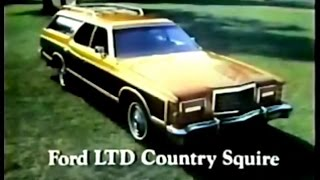 Ford Wagons Commercial (1976)