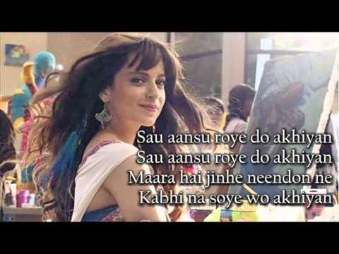 sau aansu roye do akhiyan full song