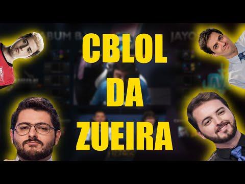 CBLOL DA ZUEIRA #14 - LOL (2ª Etapa - Semana 3)