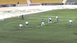 Высшая украинская лига 2004/2005 Черноморец - Металлист - Косырин (1:0)