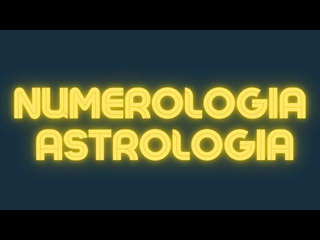 Numerologia Astrologia e a PROSPERIDADE