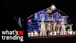 Holiday Light Display Compilation 2012 | WHAT'S TRENDING